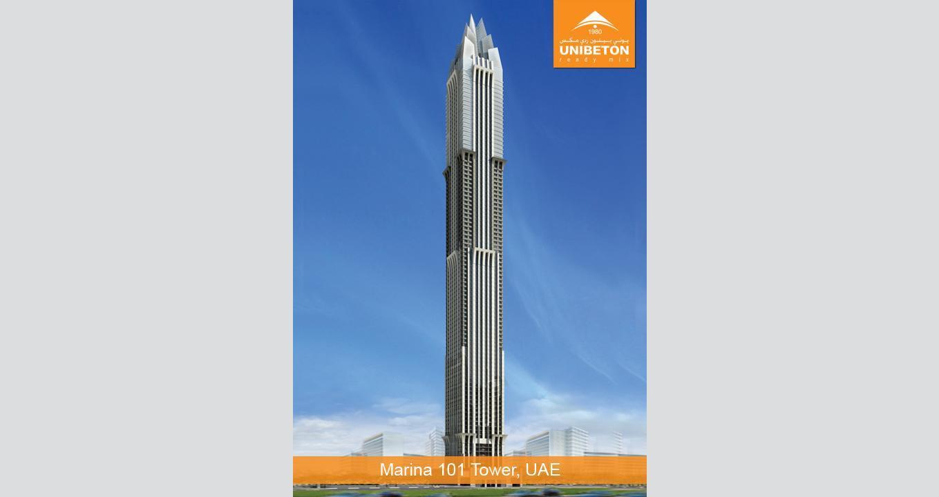 Marina 101 Tower   Unibeton Ready Mix