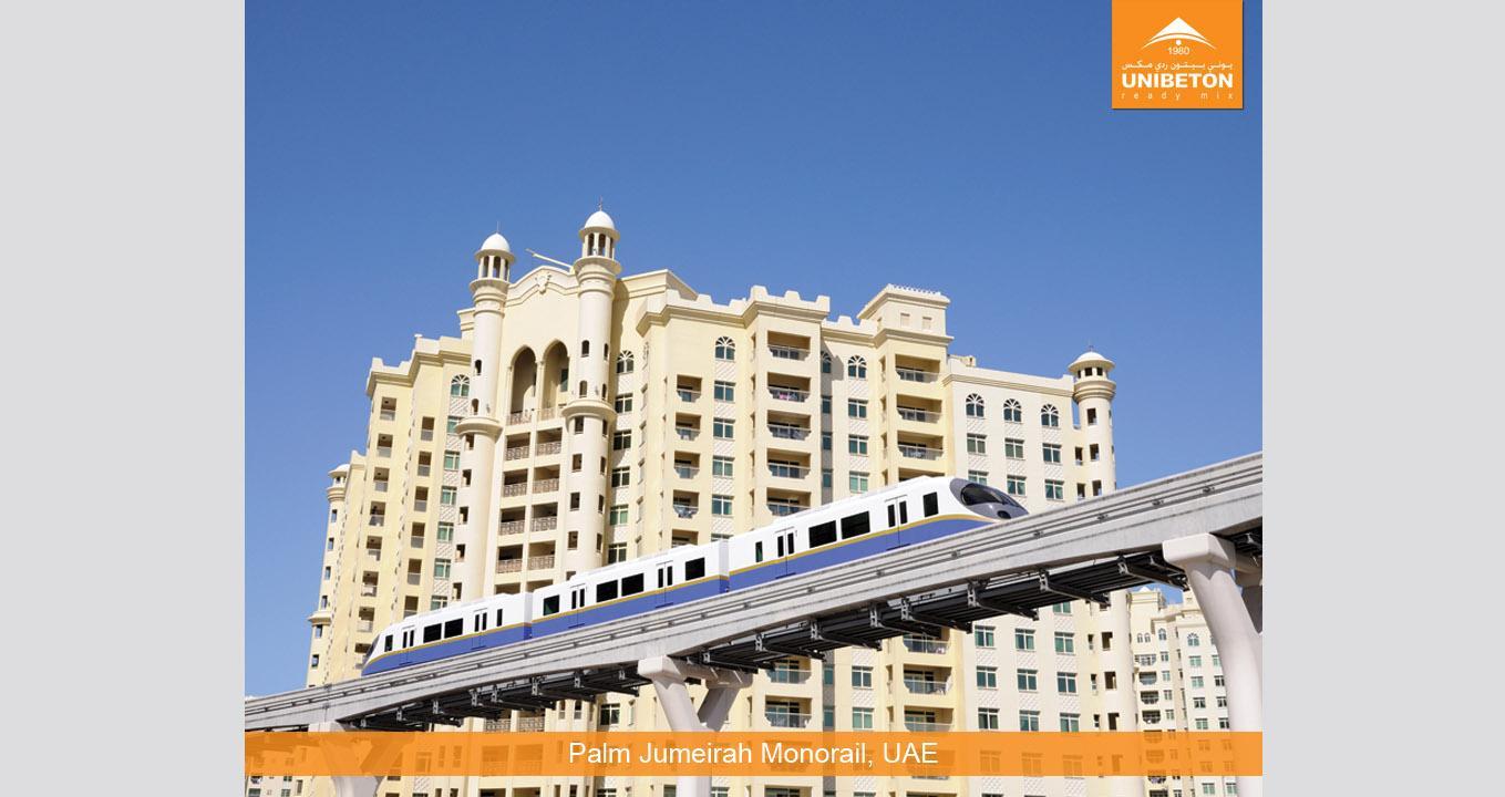 Palm Jumeirah - Monorail