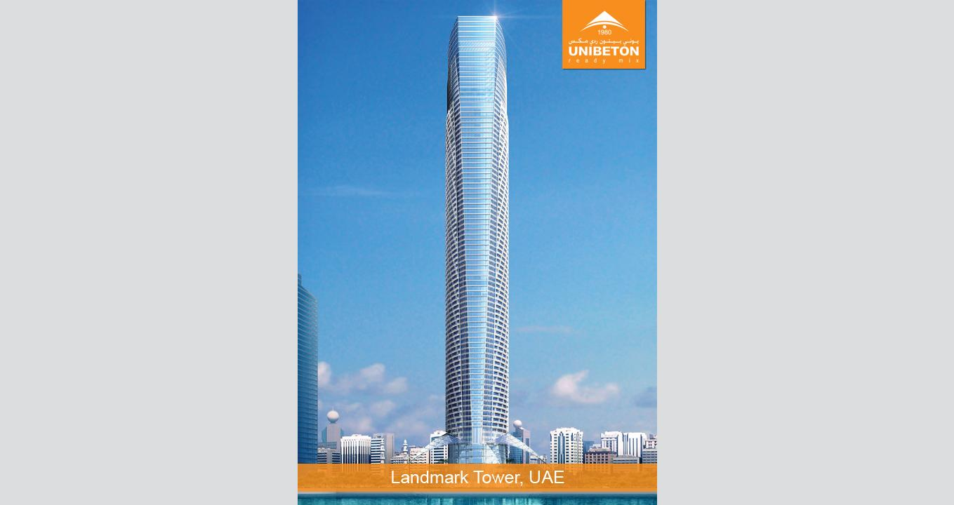 Landmark Tower | Unibeton Ready Mix