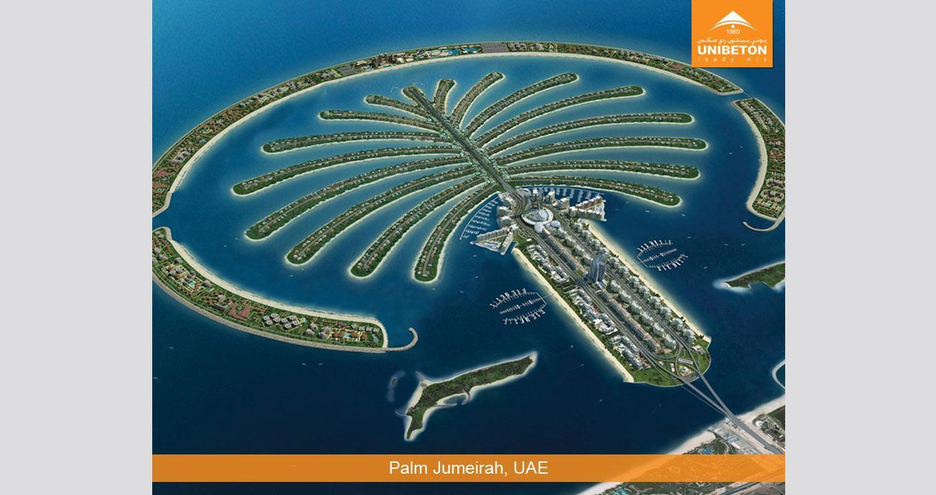 Palm Jumeirah   Unibeton Ready Mix